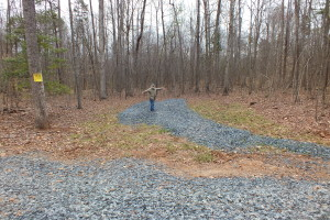 The white zone is for loading and unloading